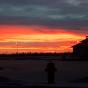 Sunrise in Warman