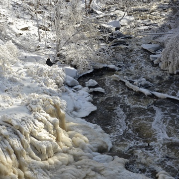Smokey Hollow Falls near Waterdown
