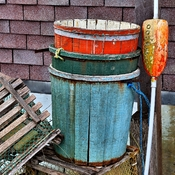 Fish Buckets and Lobster Trap