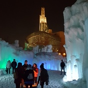 Ice Castles at The Forks