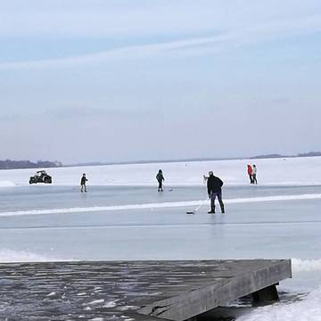 On frozen Lake