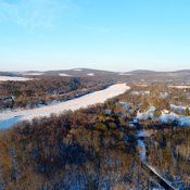 Ice jam on the Susquehanna