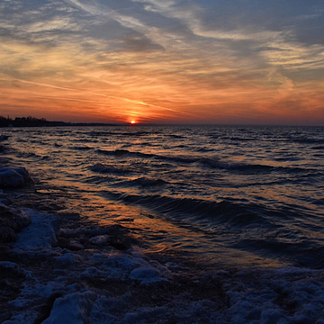 Sunset Over Lake Ontario