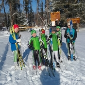 Practice makes perfect, at Don Allen Trails in La Ronge