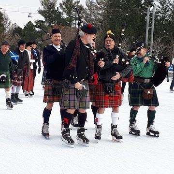 Great Canadian Kilt Skate