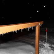Freezing Rain on the Railing