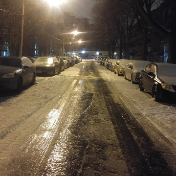 NDG/Montreal West icy street