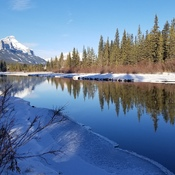 Clear and Sunny Day in Canmore
