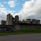 Raglan Castle Wales UK