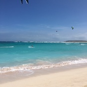 BOCA GRANDI KITE SURFER BEACH, ARUBA
