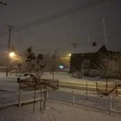 Snowy New Westminster