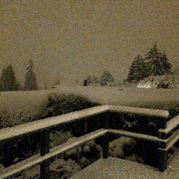 SNOW - WEST VANCOUVER - 12:20 AM