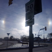 Sun Dogs in Winnipeg