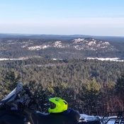 View from Wolf Mountain