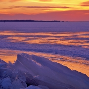 Begining of a New Day Sunrise on the Bay of Quinte