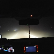 Extreme fog on the 401
