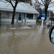 Flood in Port Bruce