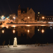 Almonte at Night in Winter