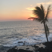 Sunset on the Kona Coast