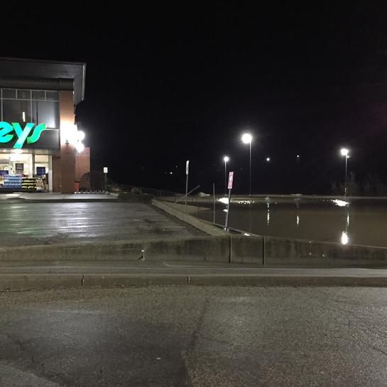Starting flooding at 9:30pm New Hamburg, Ontario, CA