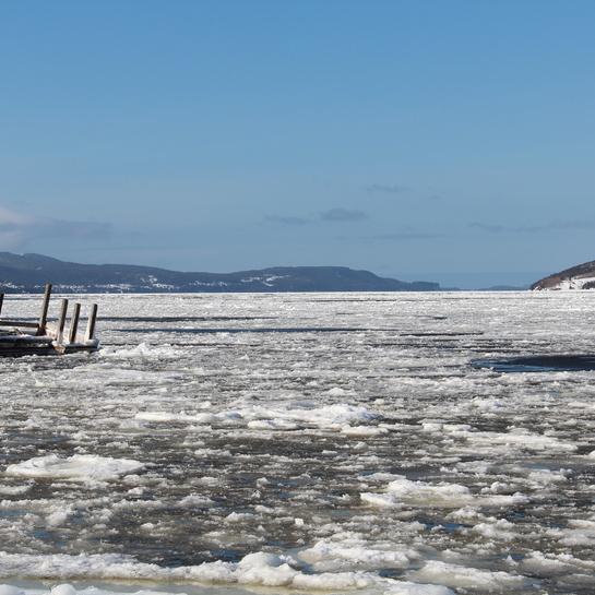 Ice pans Corner Brook, NL