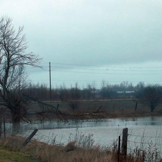 Flooding London and St Thomas Feb 21,2018 London, ON