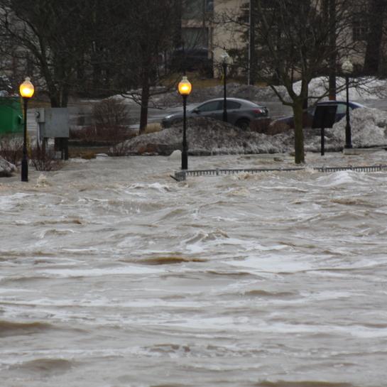 New Hamburg Flooding New Hamburg, ON