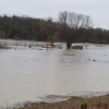 Flood in Caledonia