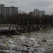 Grand River Ice Jam/Flood February,21, 2018
