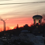 Sunset in Sudbury
