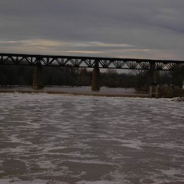 Flooding/Ice Jam at Caledonia, Brantford, Paris, On