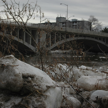 Grand River Flood/Ice Jam