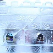 Ice Castle Peek-A-Boo!