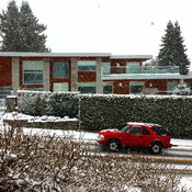 SNOW - WEST VANCOUVER - 11:25 AM