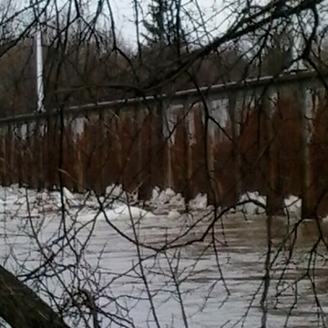 Grand river flooding in brantford