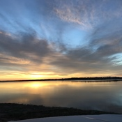 Sunrise over Charlottetown Harbour