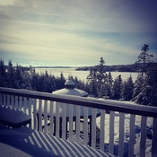 This view never gets old on West Porters Lake