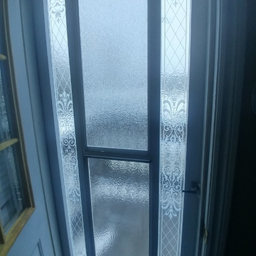 my outside door this morning