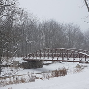 Snowy Selkirk Bridge