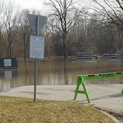flooding in Chatham, ON