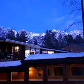 A lovely evening at Fairmont Hot Springs