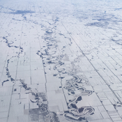 Flying over the Prairies