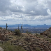 Hiking at Pinnacle Peak