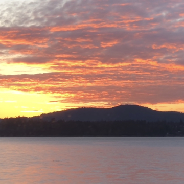 Sooke sunrise