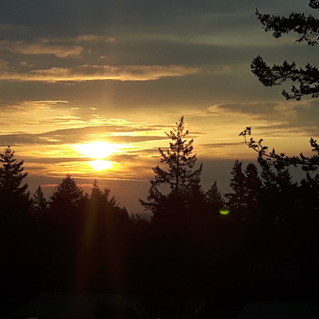 Sunrise in Nanoose, BC