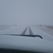 Hwy 11 at Chamberlain.11:40 am