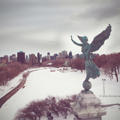 The Angel over the City of Montreal