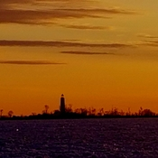 Chantry Island Sunset