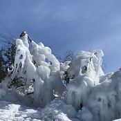 Ice Sculpture in the Shores of Lake Superior