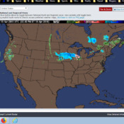 Red Headed Hippo shaped weather system ... will soon be here!